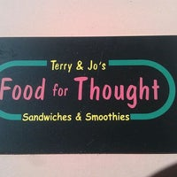 Photo taken at Terry & Jo's Food for Thought by cam on 11/5/2011