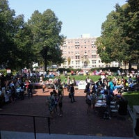 Photo taken at Krentzman Quadrangle by Chris C. on 9/14/2011