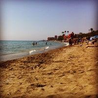 Photo taken at Playa Santa Ana by Naicu on 9/11/2012