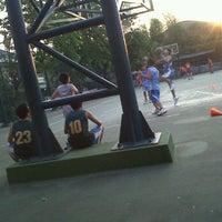 Photo taken at Lapangan Basket Duren Sakti by Andrew C. on 9/7/2011