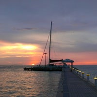 Photo taken at Rum Point Club and Restaurant by Chris L. on 8/12/2012