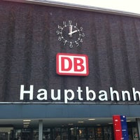 Photo taken at Duisburg Hauptbahnhof by Griff on 7/15/2011