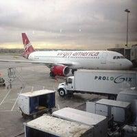 Photo taken at Virgin America by Derlie T. on 3/26/2012
