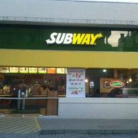 Photo taken at Subway by Amanda B. on 1/11/2012