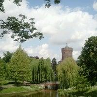 Photo taken at Kronenburgerpark by Natasja K. on 5/19/2012