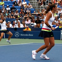 Photo taken at Louis Armstrong Stadium by US Open Tennis Championships on 9/9/2012