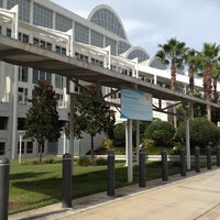 Photo taken at Orange County Convention Center South Concourse by Andrea K. on 7/10/2012