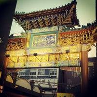 Photo taken at 王府井小吃街 Wangfujing Food Alley by Angel Z. on 5/15/2012