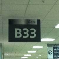 Photo taken at Gate B33 by Pedro B. on 9/16/2011