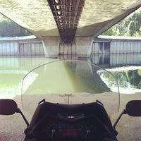 Photo taken at Pont de Puteaux by 🇫🇷 Julien S. on 8/1/2012