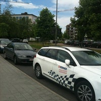 Photo taken at Parking Cultureel Centrum by Geets H. on 7/5/2012