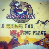 Photo taken at Holy Cow by Patrick T. on 3/18/2012