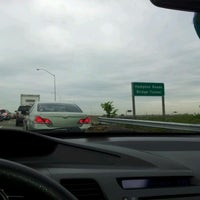 Photo taken at HRBT by Carrie L. on 4/30/2012