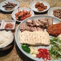 Photo taken at Hon Korean Restaurant by Haidee B. on 5/27/2012