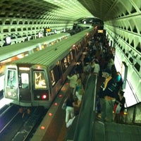 Photo taken at Farragut West Metro Station by Sharlander H. on 6/1/2012