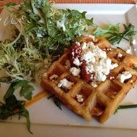 Photo taken at Belga Cafe by raerae519 on 3/10/2012