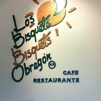 Photo taken at Los Bisquets Bisquets Obregón by Alejandra F. on 2/12/2012