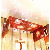 Photo taken at Gereja Katolik Regina Caeli by Andrew on 4/7/2012