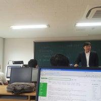 Photo taken at 단국대학교 상경관 by Daihkim K. on 6/9/2012