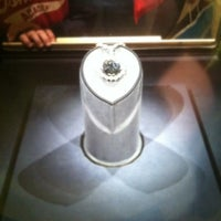 Photo taken at Hope Diamond Exhibit by Justin F. on 4/7/2012