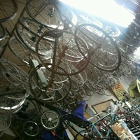 Photo taken at Dixon's Bike Shop by Traci on 4/22/2012
