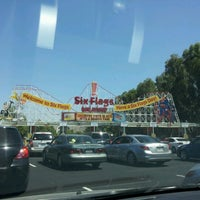 Photo taken at Six Flags Hurricane Harbor by Kimberly S. on 6/23/2012