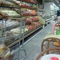 Photo taken at Supermercados Nazaré by Fernanda C. on 1/18/2012