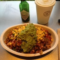 Photo taken at Chipotle Mexican Grill by Marjorie S. on 9/5/2012