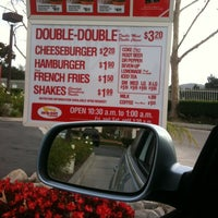 Photo taken at In-N-Out Burger by Marina R. on 12/2/2011