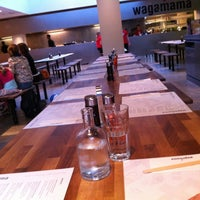 Photo taken at Wagamama by Bob on 8/12/2012