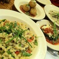 Photo taken at Basta Pasta by Ethan L. on 7/16/2012