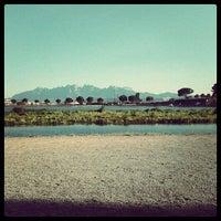 Photo taken at Parc de l'Agulla by Ferran R. on 6/25/2012