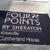 Photo taken at Four Points by Sheraton Knoxville Cumberland House Hotel by Andrea D. on 9/2/2012