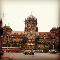 Photo taken at Chhatrapati Shivaji Terminus by Fritz-Joël M. on 8/15/2012