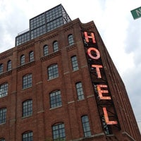 Photo taken at Wythe Hotel by kHyal™ |. on 7/26/2012