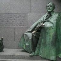 Photo taken at Franklin Delano Roosevelt Memorial by Stan H. on 10/22/2011