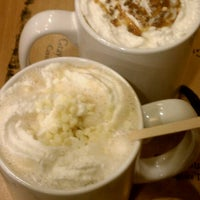 Photo taken at Caribou Coffee by Sarah S. on 11/26/2011