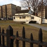 Photo taken at Edgar Allan Poe Cottage by Jason V. on 1/29/2012