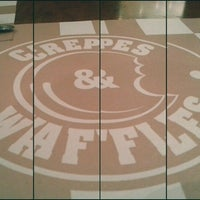 Photo taken at Crepes & Waffles by Erik F. on 8/13/2012