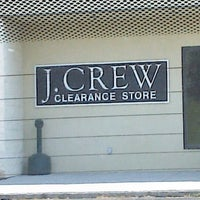 Photo taken at J Crew Factory Clearance Store by Paul S. on 6/3/2012