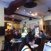 Photo taken at Unicorn Café by Jane U. on 7/23/2011