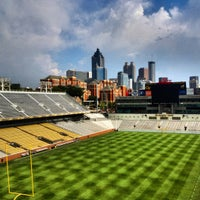 Photo taken at Bobby Dodd Stadium by David S. on 7/9/2012