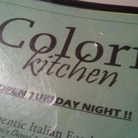 Photo taken at Colori Kitchen by Raciel D. on 10/30/2011
