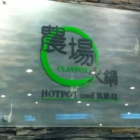 Photo taken at Claypot 農場火鍋 by Jeremy L. on 4/10/2011