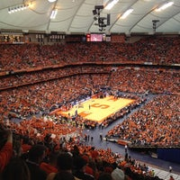 Photo taken at Carrier Dome by Katie C. on 3/3/2012