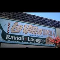 Photo taken at La Villa Delicatessen & Gourmet Shop by Aldouse H. on 6/14/2012