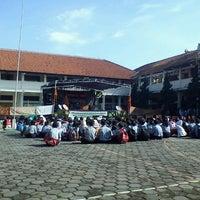 Photo taken at SMPN 45 Bandung by Dinda A. on 12/22/2011