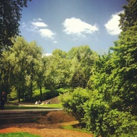 Photo taken at Parc de Bercy by Alexis L. on 5/13/2012