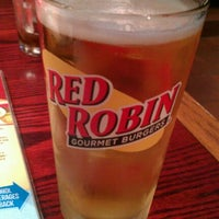 Photo taken at Red Robin Gourmet Burgers by Cody B. on 9/21/2011