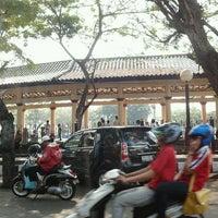 Photo taken at Alun-Alun Kota Serang by Ali Y. on 9/18/2011